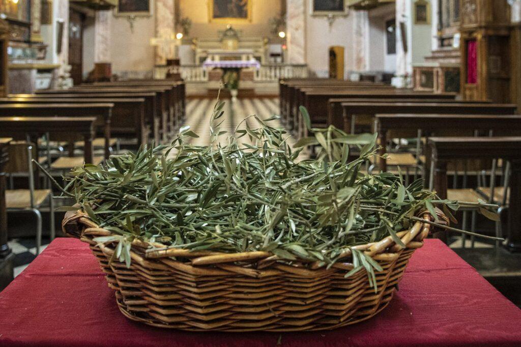 Domenica delle palme – Benedizione degli ulivi