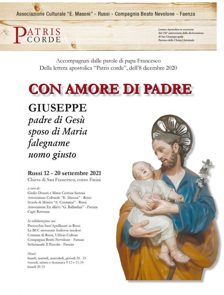 """""""Con amore di Padre"""" 12-20 settembre 2021"""
